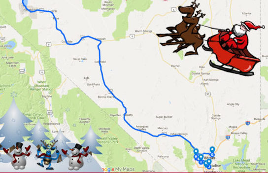 The Christmas Lights Road Trip Through Nevada That S