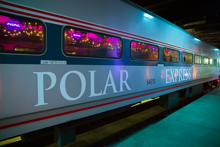 The Polar Express Train Ride In New Orleans Is Amazing
