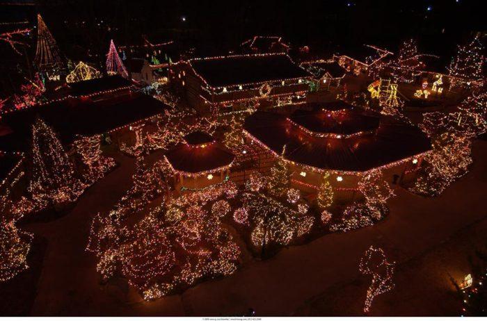 Car Driving Christmas Light Tour