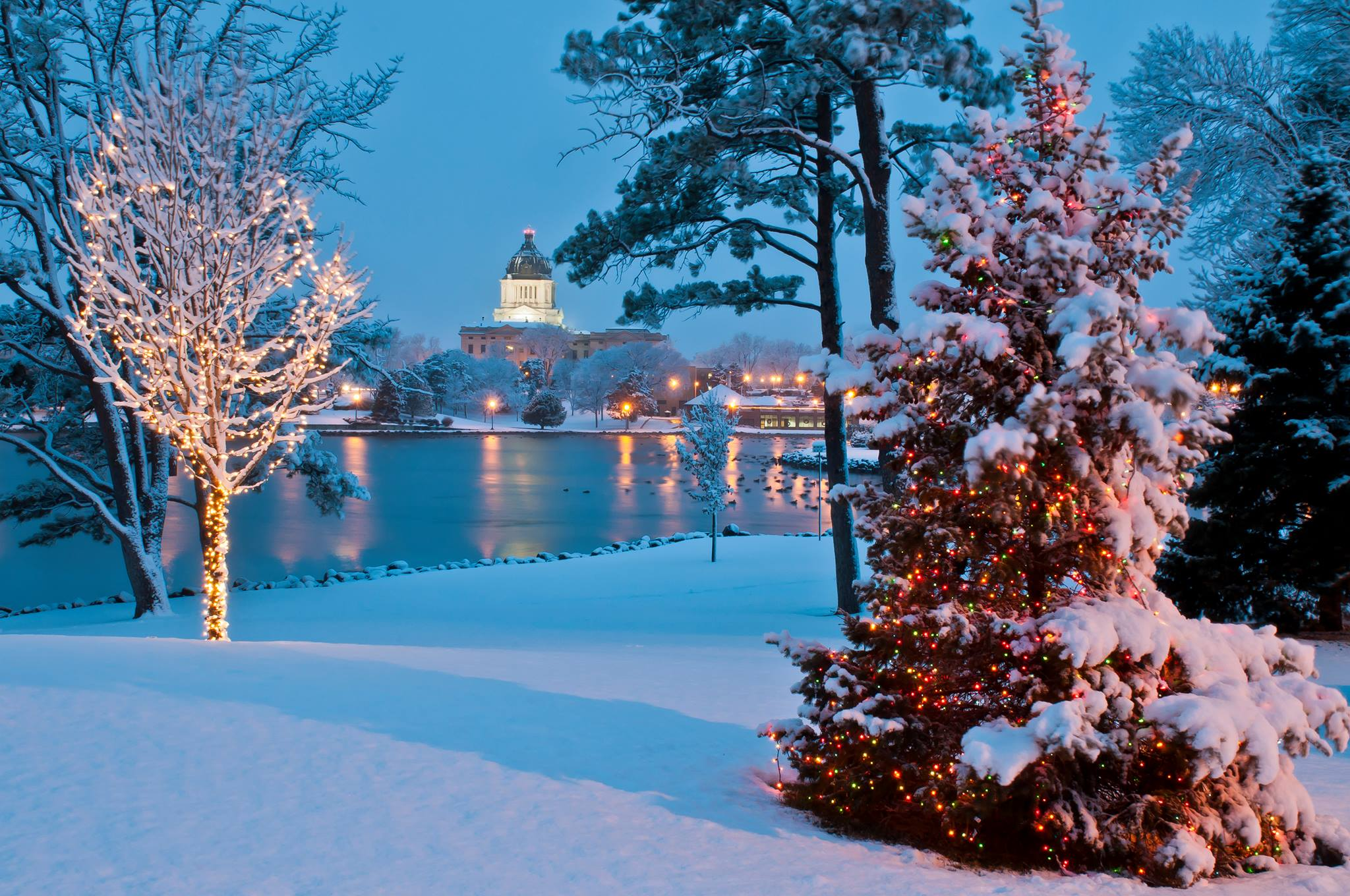 The 8 Best Christmas Towns In South Dakota In 2016