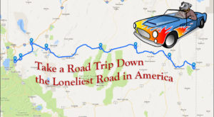 Take The Ultimate Nevada Road Trip Down The Loneliest Road In America