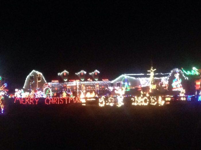Christmas Light Up Village