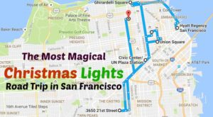 The Christmas Lights Road Trip Around San Francisco That's Nothing Short Of Magical