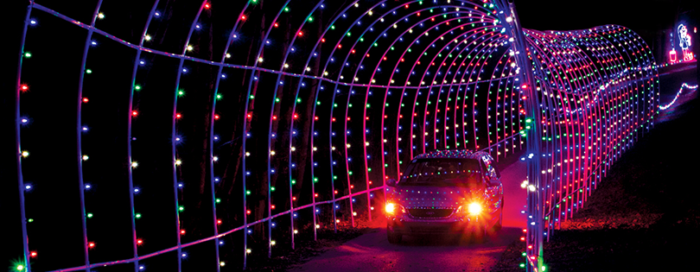 Roadtrip the top christmas light displays in indiana