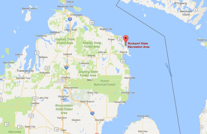 Rockport State Recreation Area In Michigan Is Truly Unique