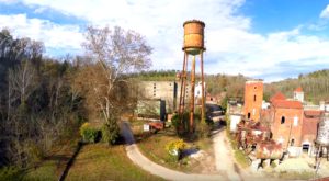 A Drone Flew Over An Abandoned Distillery In Kentucky And The Footage Is Mesmerizing