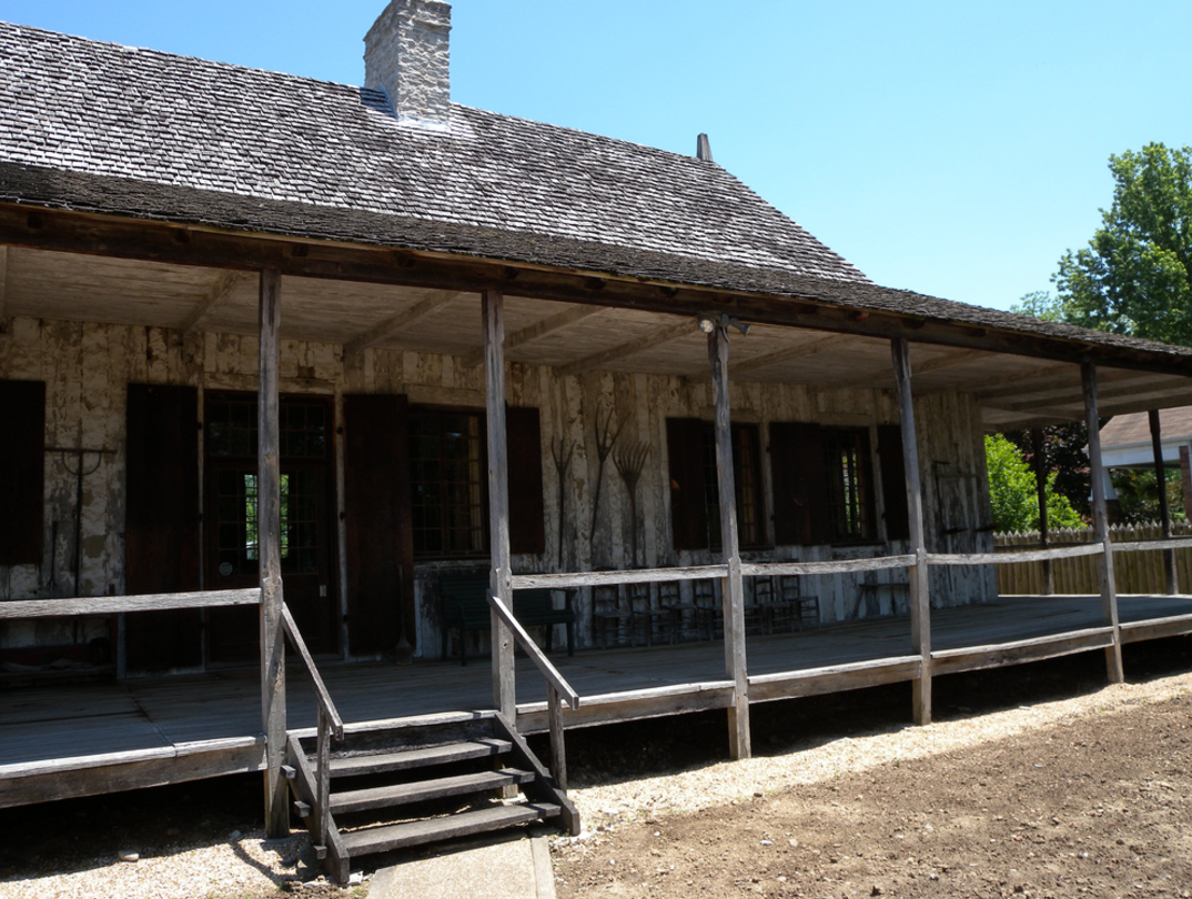 Explore the louis bolduc house one of the oldest pioneer for Home builders in missouri