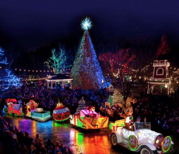 The 11 Most Magical Christmas Light Displays In Missouri