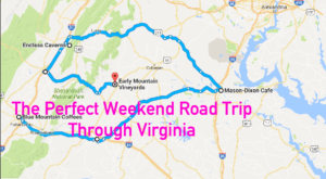 An Awesome Virginia Weekend Road Trip That Takes You Through Perfection