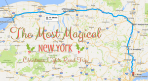 The Christmas Lights Road Trip Through New York That's Nothing Short Of Magical