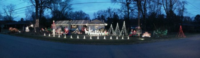 12 Of The Best Christmas Light Displays In Tennessee In 2016