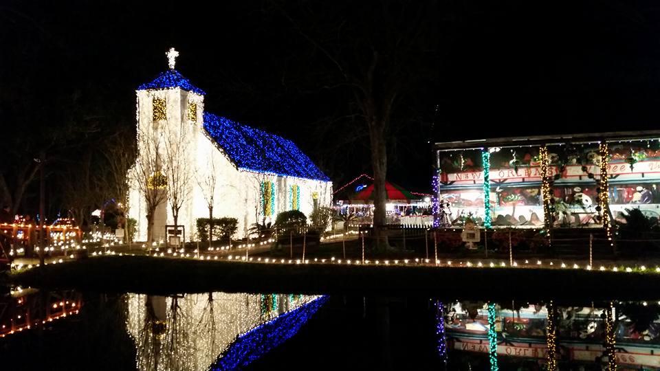 Latte Shrine Christmas Lights