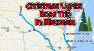 The Christmas Lights Road Trip Through Wisconsin That's Nothing Short Of Magical