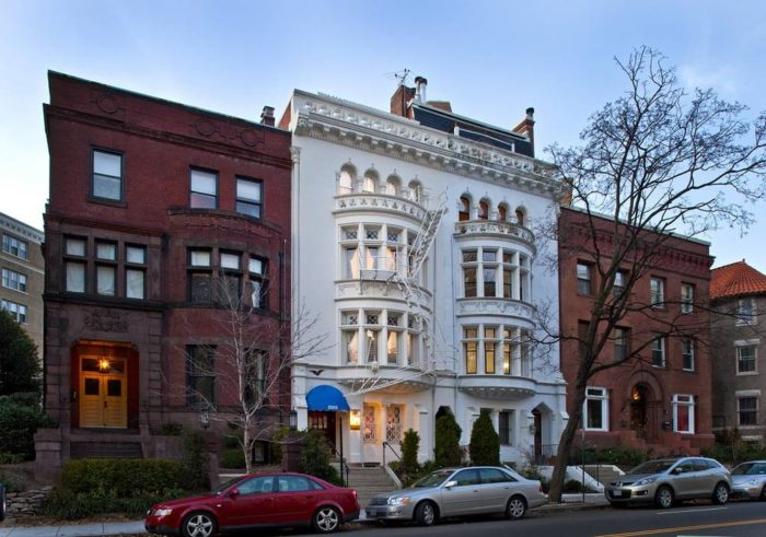Bed And Breakfasts Near Dupont Circle In Washington D C