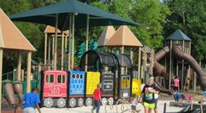 The Whimsical Playground In Tennessee That's Straight Out Of A Storybook