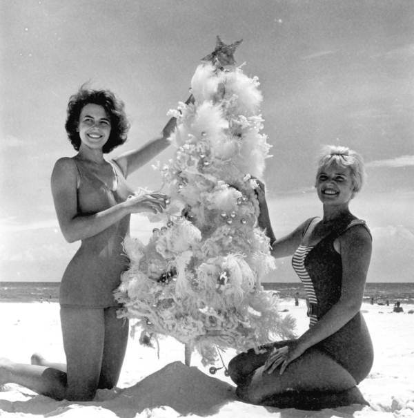 Seattle Christmas Tree Lighting: 18 Nostalgic Vintage Photographs Of Christmas In Florida