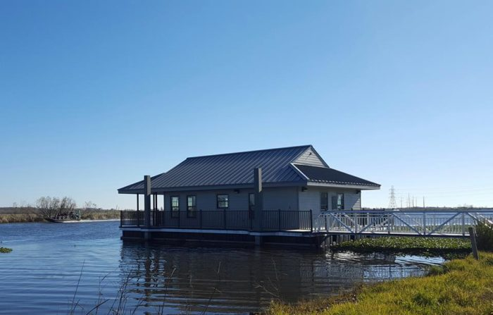 Renting The Cabins Is Easy, Just Visit The Website ReserveAmerica.com And  Find Bayou Segnette State Park.