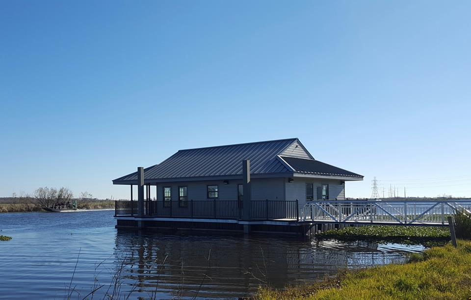 Explore The Brand New Cabins At Bayou Segnette State Park