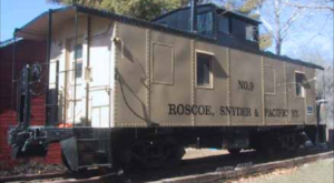 Spend The Night In This Charming And Historic Train Car In Iowa