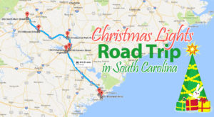 The Christmas Lights Road Trip Through South Carolina That's Nothing Short Of Magical