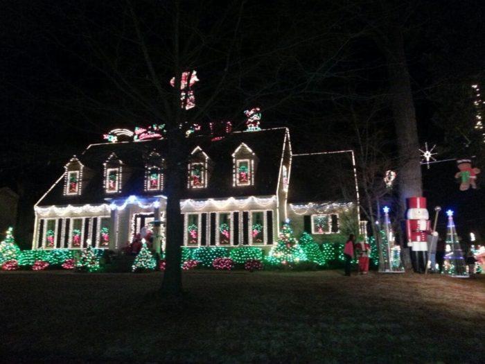 Christmas Lights Huntsville Al
