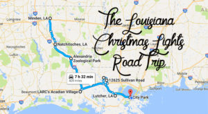 The Christmas Lights Road Trip Through Louisiana That's Nothing Short Of Magical