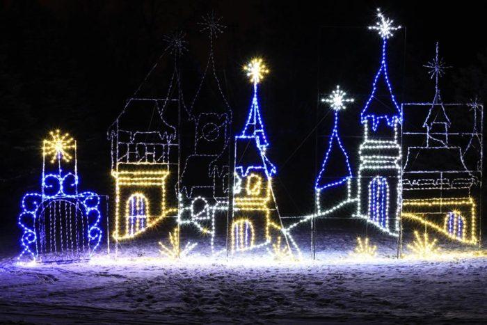Christmas Light Drive Through