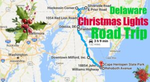 The Christmas Lights Road Trip Through Delaware That's Nothing Short Of Magical