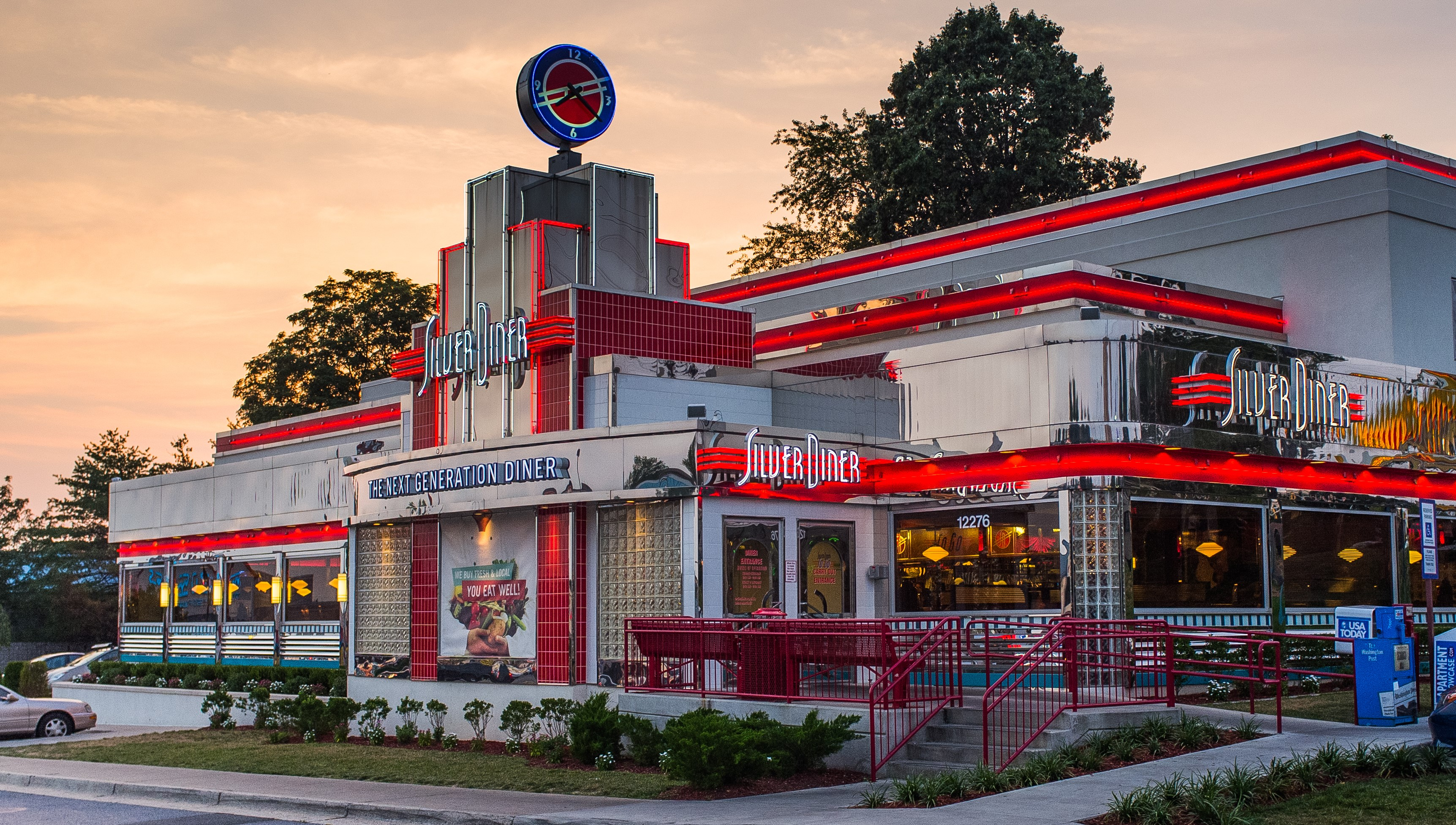 14 of the most cozy and delicious diners in maryland for 50 s diner exterior