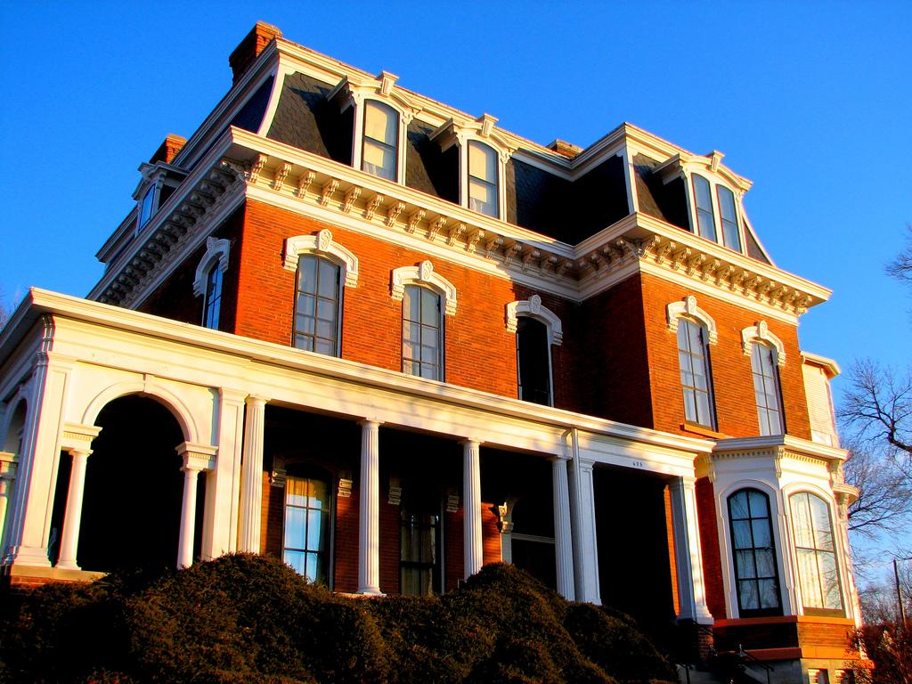 Take A Trip Through The Historic Dodge House In Iowa