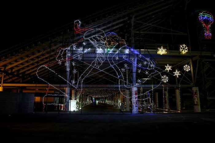 Glittering Lights at Las Vegas Speedway