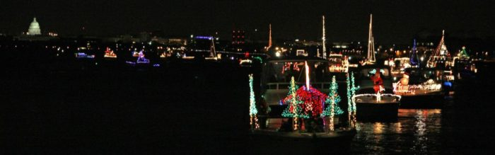 facebookalexandria dc holiday boat parade of lights - Dc Christmas Lights