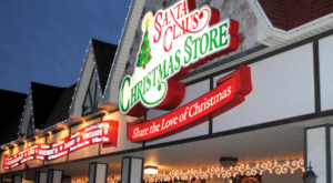 The Christmas Store In Indiana That's Simply Magical