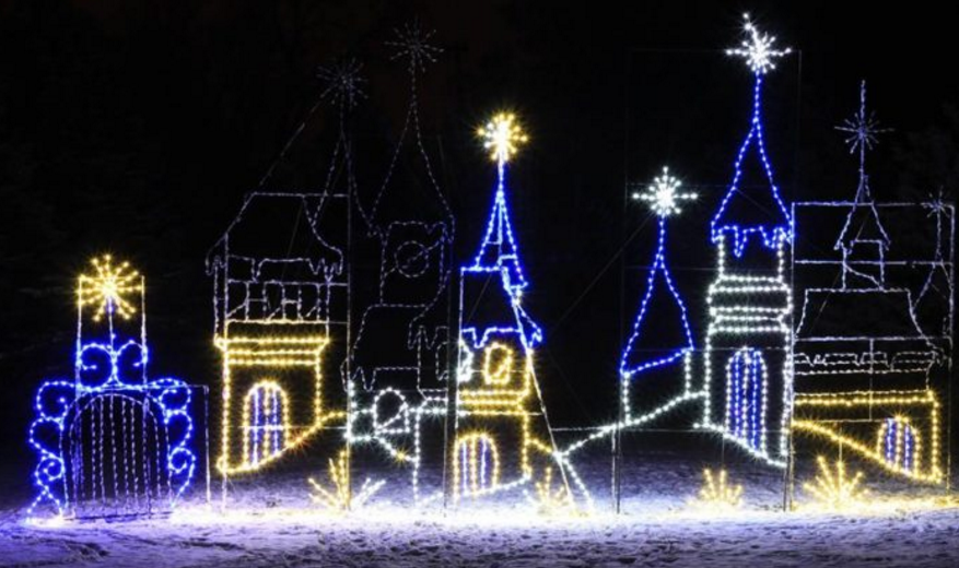 Christmas Light Displays In Ohio