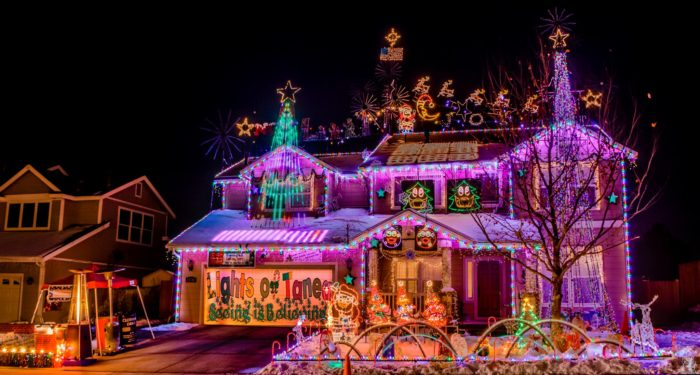 The Christmas Lights Road Trip Through Nevada That's