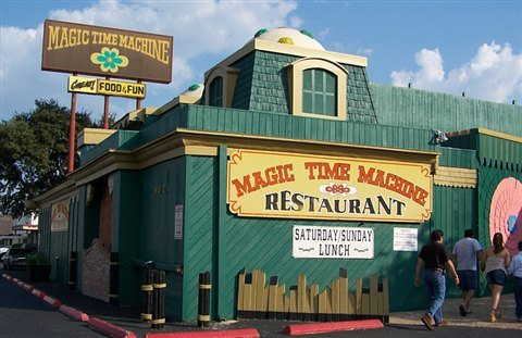 Magic Time Machine In San Antonio Is The Weirdest Most