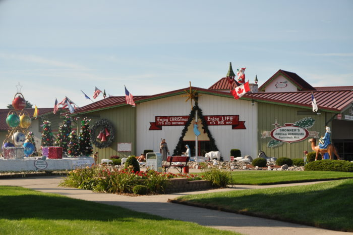 Bronner's Is The Best, Most Magical Christmas Store In Michigan