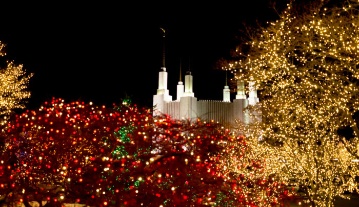 Festival of Lights at the Mormon Temple - 14 Best Christmas Light Displays Near Washington DC 2016