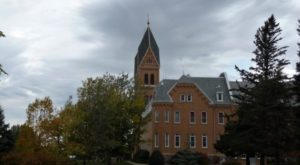 The Abbey In North Dakota That's Located In The Most Unforgettable Setting