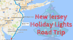 The Christmas Lights Road Trip Through New Jersey That's Nothing Short Of Magical