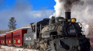 The Magical Christmas Train Ride In New Mexico Everyone Should Experience At Least Once