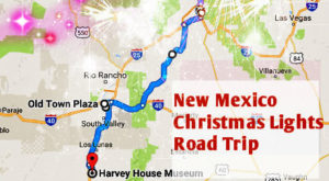 The Christmas Lights Road Trip Through New Mexico That's Nothing Short Of Magical