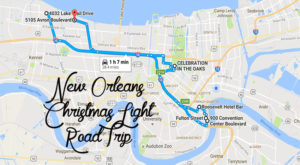 The Christmas Lights Road Trip Around New Orleans That's Nothing Short Of Magical