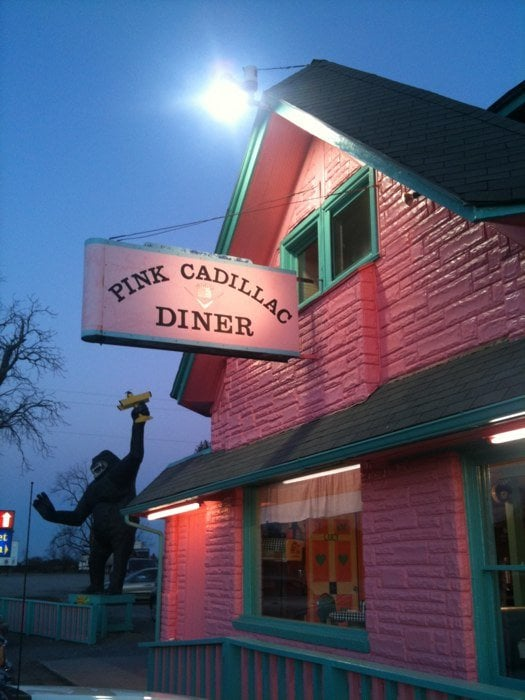 The Pink Cadillac Diner Is The Quirkiest Restaurant In