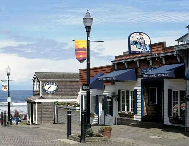 There S Also The Legendary Chowder Bowl At Nye Beach This Down To Earth Restaurant Is Located Right Beside Beautiful And Has Been Serving