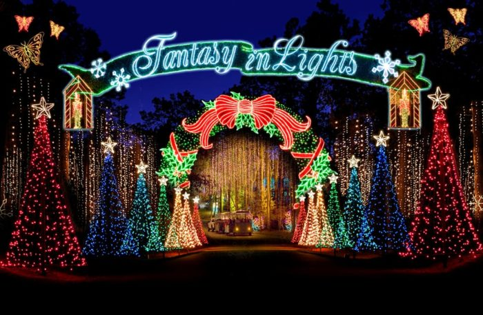 The most magical christmas lights road trip in georgia for Callaway gardens fantasy in lights