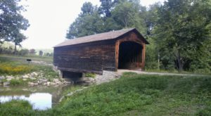 America's Oldest Covered Bridge Is Right Here In New York And It's Picture Perfect