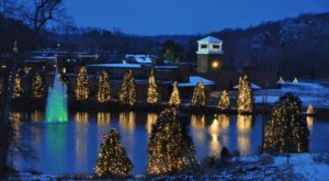 The One Town In North Carolina That Turns Into A Winter Wonderland Each Year