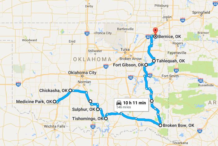 take this road trip through oklahoma u0026 39 s most charming small
