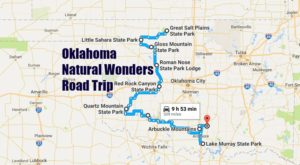 This Natural Wonders Road Trip Will Show You Oklahoma Like You've Never Seen It Before